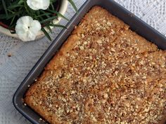 Persian Almond Rosewater Baklava Cake