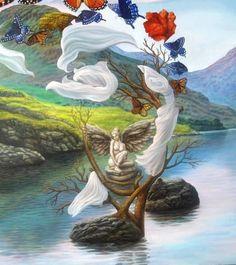 The Art of Imagination by Jorge Ignacio Nazabal from Cuba Face Illusions, Optical Illusions Pictures, Illusion Pictures, Optical Illusion Paintings, Art Optical, Image Illusion, Illusion Art, Art Fractal, Street Art