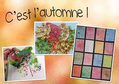 Hissez les couleurs d'automne ! Déclinaison d'idées pour réaliser de belles feuilles ...