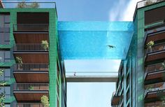 London's Rich Are Getting a Smug Swimming Pool in the Sky | VICE | United Kingdom