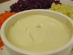 Raw Vegan Mayonnaise - uses cauliflower