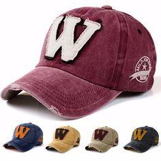 4c4ad7db24b Men Women Baseball Cap Trucker Cap Sport Snapback Washed Hip-hop Adjustable  Hat is designer