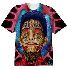 Alex Zondro's Orgasmic Dali T-shirt