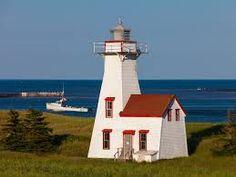 Lighthouses of Prince Edward Island Beautiful Islands, Beautiful Images, Lighthouse Lighting, New London, Prince Edward Island, Lighthouses, Touring, Places, Lighthouse