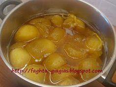 Τα φαγητά της γιαγιάς: Μήλο γλυκό του κουταλιού Sweet Treats, Oven, Sweets, Fruit, Vegetables, Desserts, Food, Tailgate Desserts, Deserts