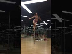 Gangsta - Kehlani (Pole dance fitness by Ms Tra Puma) in California Fitness Center - YouTube