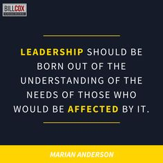 Leadership should be born out of ... #leadership