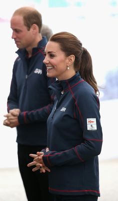 Kate Middleton Photos - The Duke And Duchess Of Cambridge Attend The America's Cup World Series - Zimbio