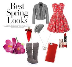 """Casual #1"" by infinitebeauty15 ❤ liked on Polyvore featuring Jack Wills, CO, H&M, maurices, Juicy Couture and Dita Von Teese"
