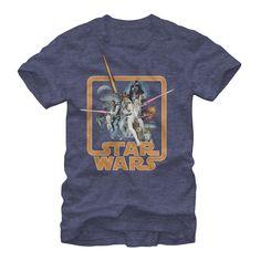20% OFF ALL #STARWARS DESIGNS NOW! Star Wars Men's - Throwback T Shirt