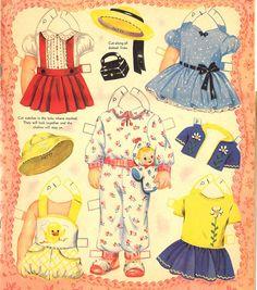 Paper Dolls~Little toddlers - Bonnie Jones - Álbumes web de Picasa