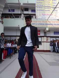 Suit And Sari Day At Amroli College 16-01-2016