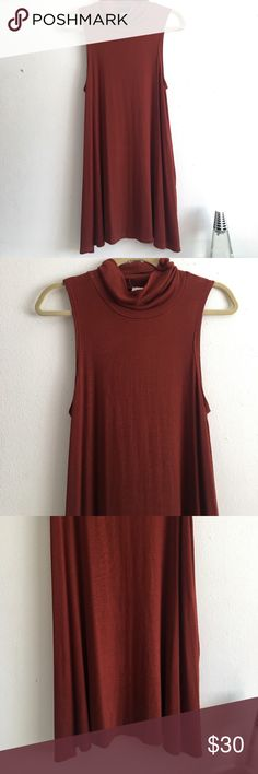 Anthropologie Post Mark Slit Turtleneck Tank New without tags! Never worn. Extremely soft and quality material ✨ Anthropologie Tops