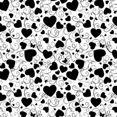 Cover-a-Card Heart Swirls - Click Image to Close