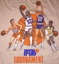 VTG 80s IPTAY Tournament 1983-1984 THIN T-Shirt Clemson Tigers Furman Marquette