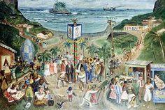 Festa de São João, década de 1940 Alfredo Volpi