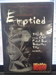 PAUL KOSTRACH DVD PRESENTS EMPTIED BLACK MAGIC TRICK Please check out all our rare value priced Magic tricks & Books at: http://stores.ebay.com/webrummage