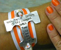 Go Big Orange by ThoughtsnMetal on Etsy, $18.00