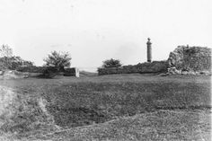 Fort Erie in ruins, 1930s.