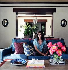 10 celebrities with superior taste in home decor cindy crawford Elle home decor pinterest