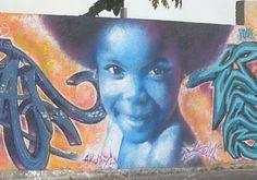 Graffiti Tag à lHermitage La Réunion