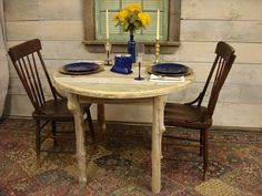 Driftwood Dining Room Table 40 Round x 29H by DriftwoodTreasures, $549.00