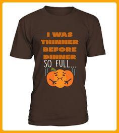 I Was Thinner Before Dinner Funny Thanksgiving Tshirt - Thanksgiving shirts (*Partner-Link)