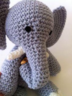 E Is For Elephant Amigurumi Pattern