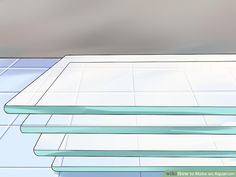How to Make an Aquarium (with Pictures) - wikiHow Aquarium Diy, Best Aquarium Filter, Turtle Aquarium, Aquarium Stand, Aquarium Setup, Glass Aquarium, Aquarium Fish Tank, Fish Tanks, Saltwater Tank