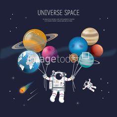 AI 일러스트 illust illustration 우주 별 우주복 유성 지구 천문 풍선 행성 우주복 우주비행사 아이콘 이미지 디자인 space universe spacesuit star uniform planet ballon icon image design 통로이미지 클립아트코리아 #tongroimages #clipartkorea