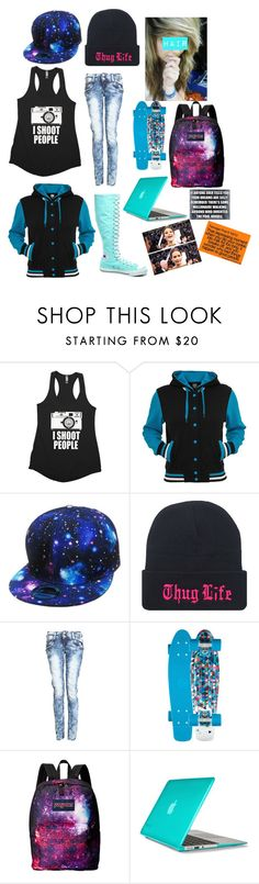 """""""South Park OC"""" by ilovemakeup124 ❤ liked on Polyvore featuring JanSport, Converse and Speck"""