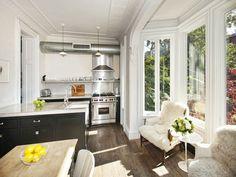 Kitchen of J.Crew's Jenna Lyons Knockout Park Slope House (Sold for $4M).