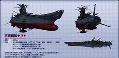 Space Battleship Yamato メカニック|宇宙戦艦ヤマト2199