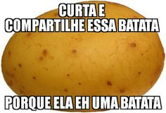 eu adoro batatas