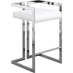 White Counter Stools, Chrome Bar Stools, Home Bar Areas, Bar Furniture, Decoration, New Homes, Vanity, Contemporary, Blessings