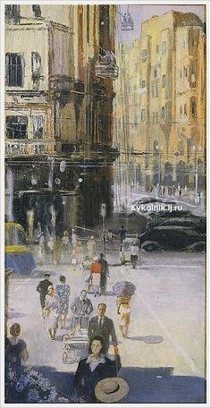 "Yuri Pimenov - ""Moscow"", 1938"