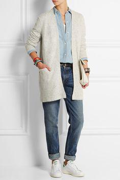 Madewell   Ryder stretch-knit cardigan   NET-A-PORTER.COM