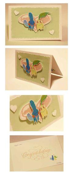 Esta tarjeta 3D increíblemente dulce de Pokémon: