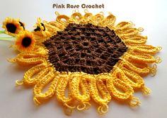 \ PINK ROSE CROCHET /