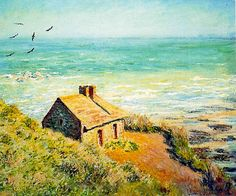 Claude Monet    , The Custom House, Morning Effect, 1882, oil on canvas.