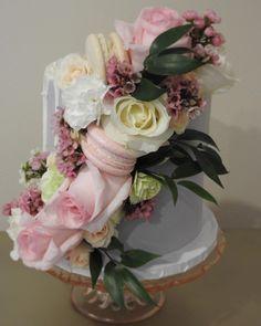 🌸🎂🍰💕 #sugarandbloomcakelove #buttercream #cakeporm #freshflowers