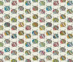 Jubilant Skeins fabric by jaymehennel on Spoonflower - custom fabric