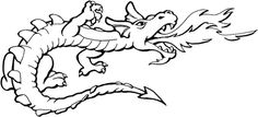 How To Draw Dragons - ClipArt Best