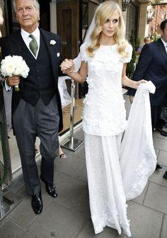 Poppy Delevingne s'est mariée en Chanel