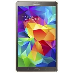 REDUCED PRICE (Save $110.00) - Refurbished Samsung Galaxy Tab S 8.4-Inch Tablet (16 GB, Titanium Bronze)