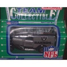 Oakland Raiders 1990 Matchbox White Rose NFL Diecast Ford Model A Truck Collectible Car by NFL  $17.95 Packaging News, Matchbox Cars, San Francisco Giants, Minnesota Vikings, Carolina Panthers, Ford Models, Oakland Raiders, Ford Trucks, White Roses