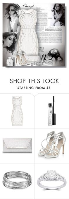 """""""Cheryl - Contest!"""" by sarahguo ❤ liked on Polyvore featuring Hervé Léger, MAC Cosmetics, Dorothy Perkins, Aqua and BillyTheTree"""