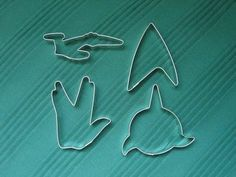 :D Star Trek Cookie Cutters! Star Trek Party, Deep Space Nine, Star Trex, Constellations, Cookie Cutter Set, Cookie Jars, Star Trek Tos, Star Wars, Starship Enterprise
