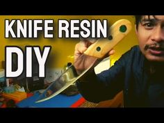 DIY. KERAJINAN RESIN BENING (KNIFE RESIN) / RESIN ART - YouTube Making Resin Rings, Resin Art, Youtube, Diy, Bricolage, Handyman Projects, Do It Yourself, Diys, Diy Hacks