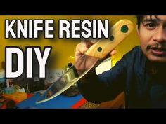 DIY. KERAJINAN RESIN BENING (KNIFE RESIN) / RESIN ART - YouTube Making Resin Rings, Resin Art, Youtube, Diy, Bricolage, Do It Yourself, Youtubers, Homemade, Diys